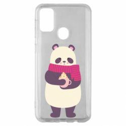 Чехол для Samsung M30s Panda and Cappuccino