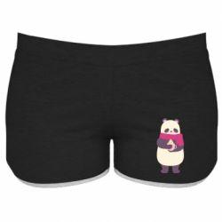 Женские шорты Panda and Cappuccino