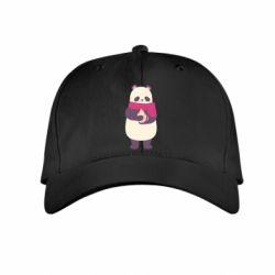 Детская кепка Panda and Cappuccino