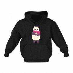 Детская толстовка Panda and Cappuccino