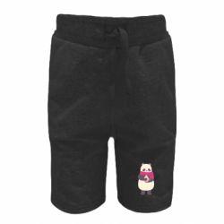 Детские шорты Panda and Cappuccino