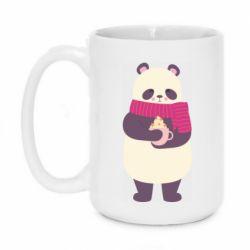 Кружка 420ml Panda and Cappuccino