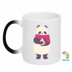 Кружка-хамелеон Panda and Cappuccino