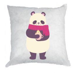 Подушка Panda and Cappuccino