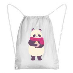 Рюкзак-мешок Panda and Cappuccino