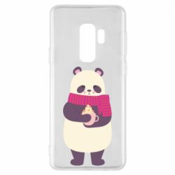 Чехол для Samsung S9+ Panda and Cappuccino