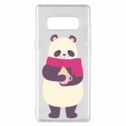 Чехол для Samsung Note 8 Panda and Cappuccino