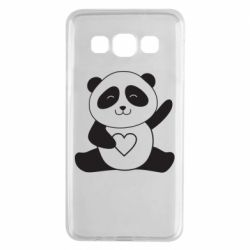Чохол для Samsung A3 2015 Panda and heart