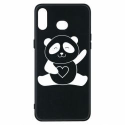 Чохол для Samsung A6s Panda and heart