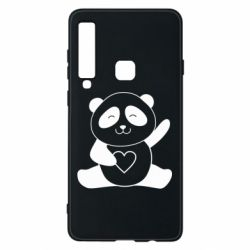 Чохол для Samsung A9 2018 Panda and heart