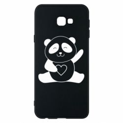 Чохол для Samsung J4 Plus 2018 Panda and heart