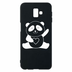 Чохол для Samsung J6 Plus 2018 Panda and heart