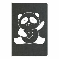 Блокнот А5 Panda and heart