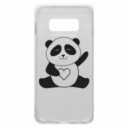 Чохол для Samsung S10e Panda and heart