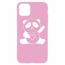 Чохол для iPhone 11 Panda and heart