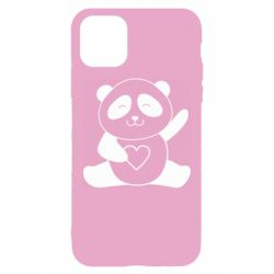 Чохол для iPhone 11 Pro Max Panda and heart