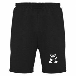 Чоловічі шорти Panda and heart