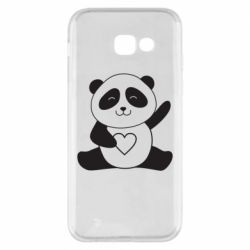 Чохол для Samsung A5 2017 Panda and heart