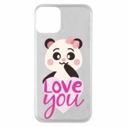 Чехол для iPhone 11 Panda and love
