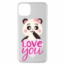 Чехол для iPhone 11 Pro Max Panda and love