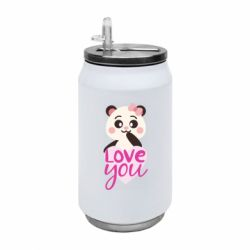 Термобанка 350ml Panda and love