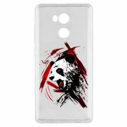 Чехол для Xiaomi Redmi 4 Pro/Prime Panda and paint strokes