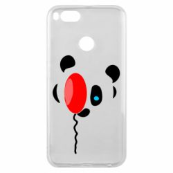 Чехол для Xiaomi Mi A1 Panda and red balloon