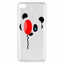 Чехол для Xiaomi Mi 5s Panda and red balloon