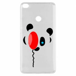 Чехол для Xiaomi Mi Max 2 Panda and red balloon