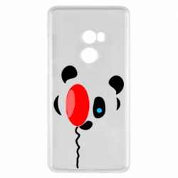 Чехол для Xiaomi Mi Mix 2 Panda and red balloon