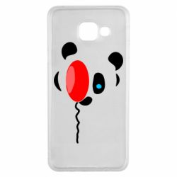 Чехол для Samsung A3 2016 Panda and red balloon