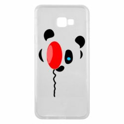 Чехол для Samsung J4 Plus 2018 Panda and red balloon