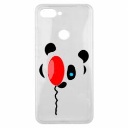 Чехол для Xiaomi Mi8 Lite Panda and red balloon