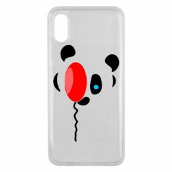 Чехол для Xiaomi Mi8 Pro Panda and red balloon