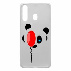Чехол для Samsung A60 Panda and red balloon