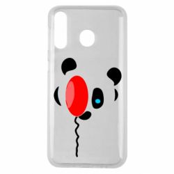 Чехол для Samsung M30 Panda and red balloon