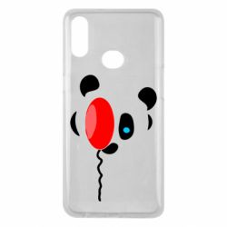 Чехол для Samsung A10s Panda and red balloon