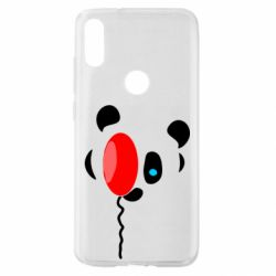 Чехол для Xiaomi Mi Play Panda and red balloon