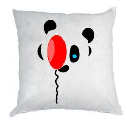 Подушка Panda and red balloon