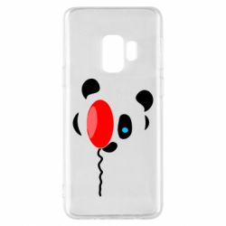 Чехол для Samsung S9 Panda and red balloon