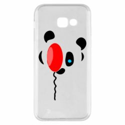 Чехол для Samsung A5 2017 Panda and red balloon