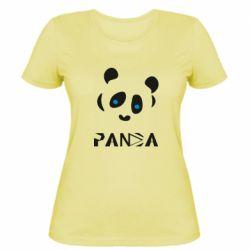 Жіноча футболка Panda blue eyes