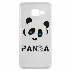Чохол для Samsung A3 2016 Panda blue eyes