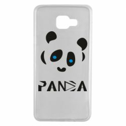 Чохол для Samsung A7 2016 Panda blue eyes