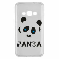 Чохол для Samsung J1 2016 Panda blue eyes