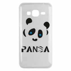 Чохол для Samsung J3 2016 Panda blue eyes