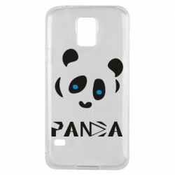 Чохол для Samsung S5 Panda blue eyes
