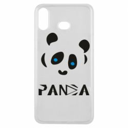 Чохол для Samsung A6s Panda blue eyes