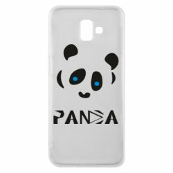 Чохол для Samsung J6 Plus 2018 Panda blue eyes