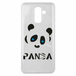 Чохол для Samsung J8 2018 Panda blue eyes